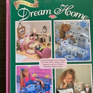 Fashion Doll Dream Home craft book